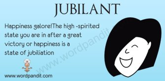 Jubilant definition